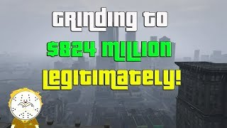 GTA Online Grinding To $824 Million Legitimately And Helping Subs