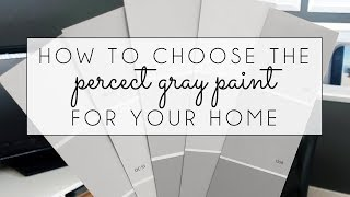 How To Choose The Right Gray Paint For Your Home
