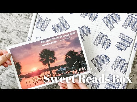 Sweet Reads Box Unboxing July 2021