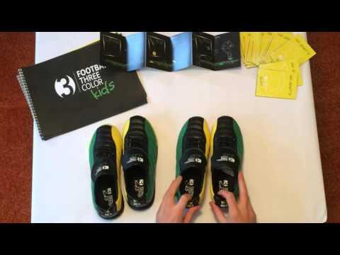 Unboxing | Erstes Unboxing Video zum revolutionären F3C Kids 3 Farben Kinder Fussball Schuh Brasil