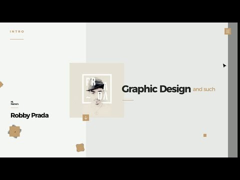 Personal CV - Motion Graphics (Adobe After Effects)