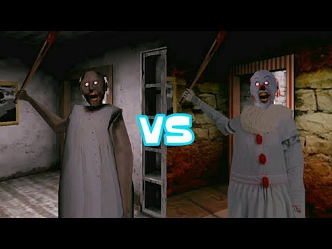 Granny vs Pennywise Granny