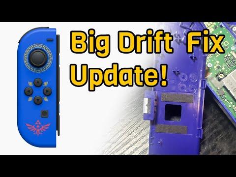 Big Joycon Drift Fix Update!