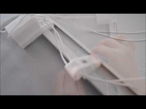 Raffrollo Stoff Montage und Demontage KS Handel 24