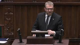 Grzegorz Braun – wystąpienie z 2 marca 2020 r.