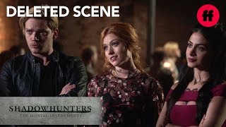 Shadowhunters Season 3, Episode 3 Deleted Scene | Clary, Jace & Izzy Search For The Owl | Freeform