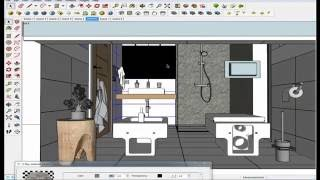 vray for sketchup 2015 interior lighting tutorial