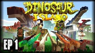 Minecraft PE 1.2 - LA ISLA DE LOS DINOSAURIOS - EP 1 - MAPAS DE AVENTURA CON ADDONS - BUSCANDO A BOB