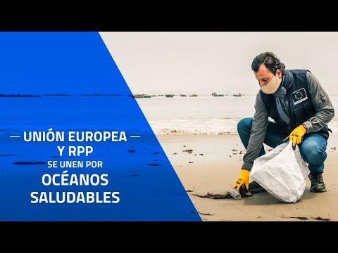 Unión Europea en Perú lanza campaña por #OcéanosSaludables junto a RPP