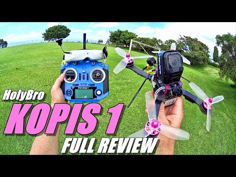 HolyBro KOPIS 1 Race Drone – Full Review – Unboxing / Setup / Flight-CRASH! Test / Pros & Cons