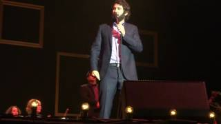 Josh Groban HMH May 13 2016 sparkly hat and boy soprano
