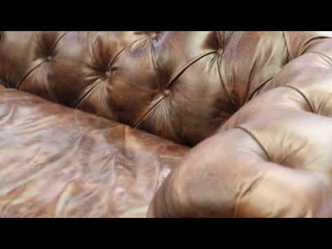 Luxury Vintage Chesterfield Sofa