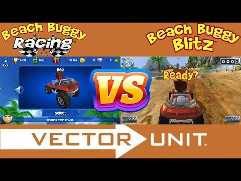 Beach Buggy Racing Vs Beach Buggy Blitz - Android Game Play - Part 1