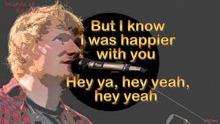 Ed Sheeran    Happier   Instrumental With Choir