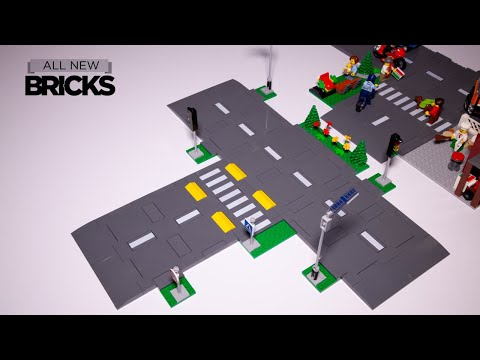 Vidéo LEGO City 60304 : Intersection à assembler