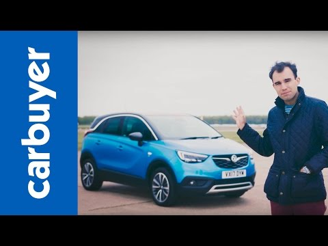 Vauxhall Crossland X SUV review (Opel Crossland X) – James Batchelor – Carbuyer
