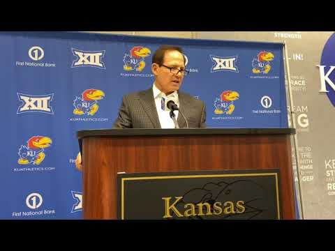 KU head coach Les Miles on loss to Texas