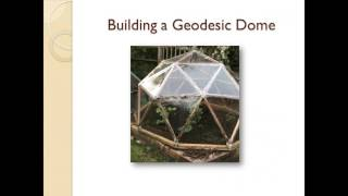 How To Build A Geodesic Dome Webinar