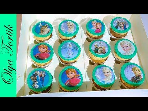 Вафельная картинка для капкейков Куклы LOL — купить в  интернет-магазине CakeShop.com.uа, відео