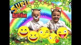 Смешная логическая игра для детей! КОШКА НА СТЕНЕ