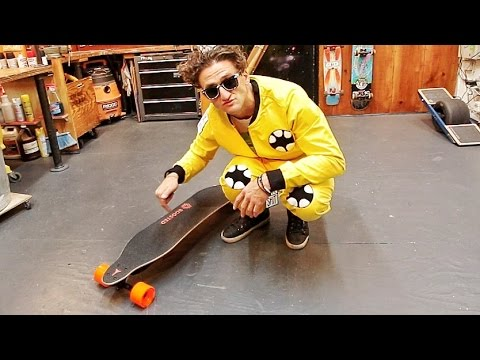 NEW FASTER ELECTRIC SKATEBOARD!!!