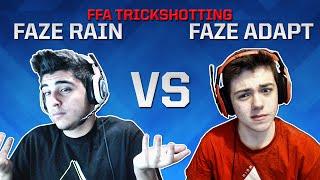 FaZe Rain vs FaZe Adapt - FFA TrickShotting!