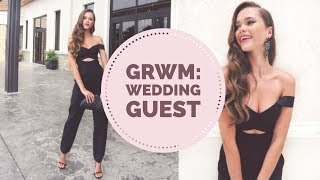 Get Ready With Me | Wedding guest | Hair, Makeup, Outfit
