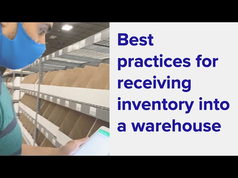 , title : 'Best Practices for receiving Inventory into a Warehouse   ShipHero