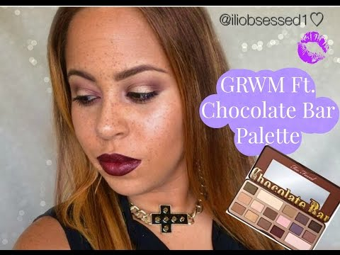 GRWM Ft Chocolate Bar Palette