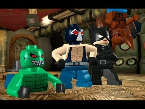 lego batman the videogame walkthrough lego batman 100 guide rh gameanyone com LEGO Batman Mini Kit Detector LEGO Batman Coloring Pages