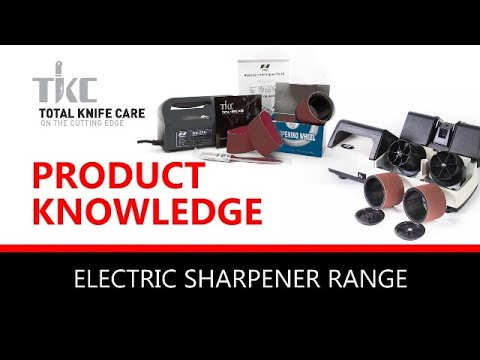 The Nirey Electric Knife Sharpening Range