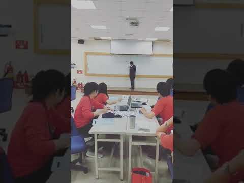 蘇峰民博士-新竹電子廠授課情形