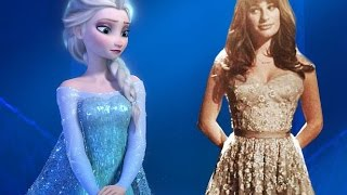 Let It Go - Idina Menzel & Lea Michele  [HD FULL SONG]
