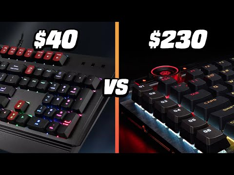 $230 vs $40 Gaming Keyboard – Corsair K100 vs MSI Vigor GK20 – Is It Worth It?