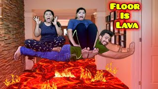 Extreme Floor Is Lava Challenge   Hungry Birds