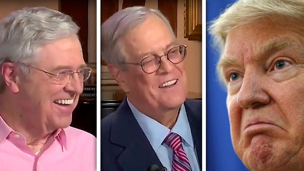 Koch Brothers Sabotage Trump's Big Plans thumbnail
