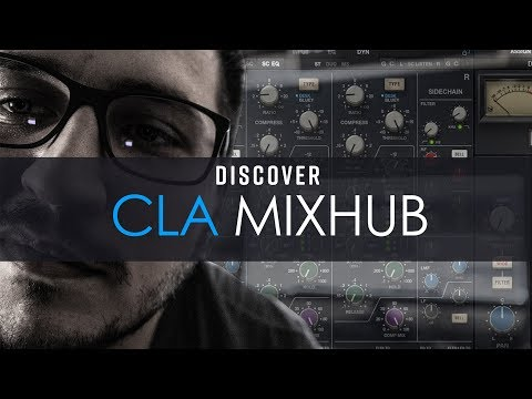 Let's discover Waves CLA MixHub /// Mixing with buckets ?