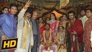 Balakrishna Daughter Tejaswini Wedding | Tejaswini Weds Sribharat Marriage Video - 16