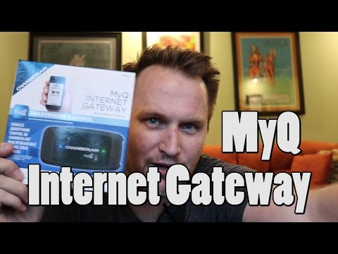 Setting up MyQ Internet Gateway Garage door opener in less than 4 minutes. Bing Err