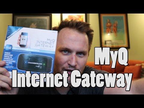 Setting up MyQ Internet Gateway Garage door opener in less than 4 minutes. Bing Err