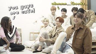 asking K-pop group VAV random questions!