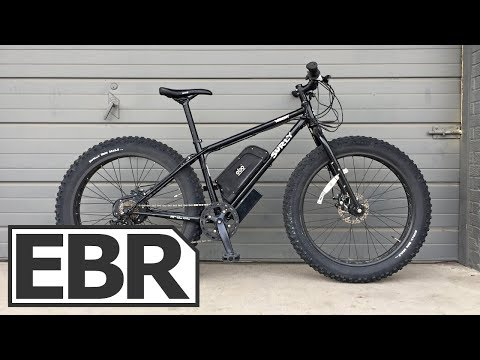 Electric Bike Outfitters Fat Tire Kit Video Review – $1.7k Powerful, Fast, Fat Tire Ebike