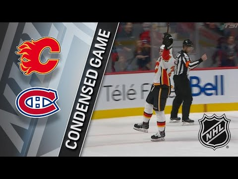 12/07/17 Condensed Game: Flames @ Canadiens
