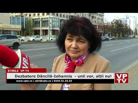 Dezbatere Dăncilă-Iohannis  – unii vor, alții nu!