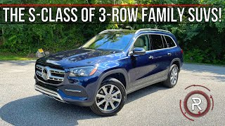 [Redline] The 2021 Mercedes-Benz GLS 450 4Matic Is An S-Class Sized Family Luxury SUV