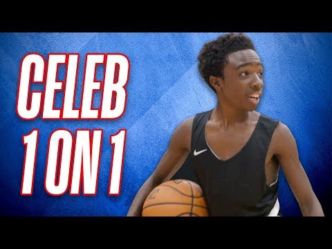 Celebrities Caleb McLaughlin & Miles Brown Train For NBA All-Star Game 2018