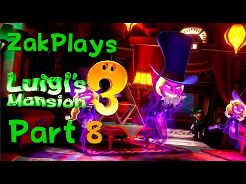 OOH! I LIKE THIS FLOOR! Luigi's Mansion 3 (Part 8) - ZakPlays