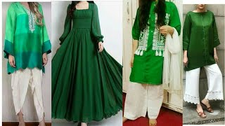 14 August Dress Designs 2018 /dress For 14 August/Pakistani Independence Day Dresses