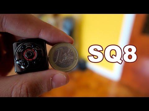 SQ8 - Cámara espía diminuta por menos de 20€