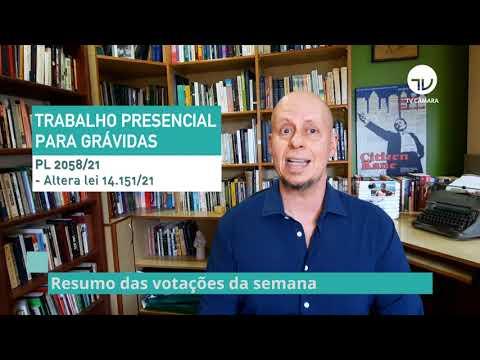 Resumo do Plenário - Veja as votações da semana - 08/10/21